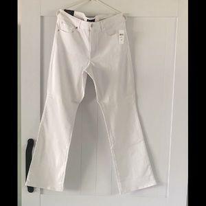 NWT GAP Bootcut White Jeans